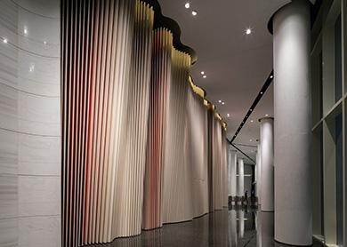 艺术背景墙铝单板