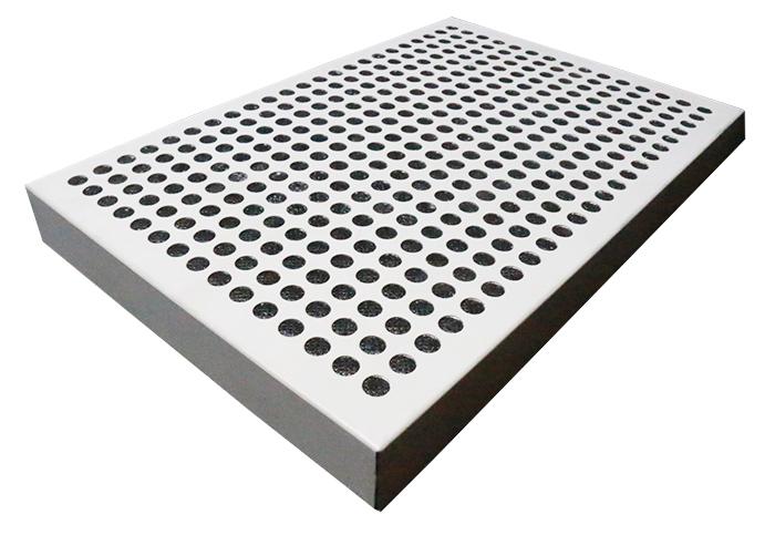 冲孔铝蜂窝板