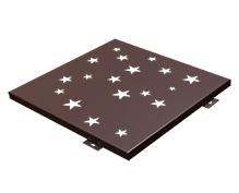不规则冲孔铝单板