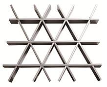 三角形铝格栅吊顶
