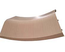 木纹双曲铝单板